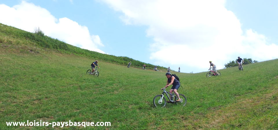 Raid V.T.T au Pays Basque : week-end de l'ascension